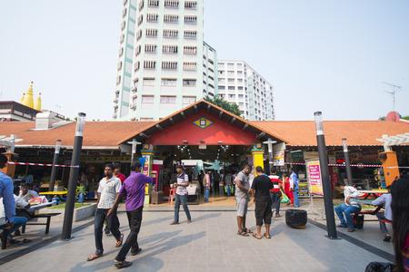 public houses: LITTLE INDIA, SINGAPORE - OCTOBER 12, 2015: little india hub of the Indian community in Singapore on October 12, 2015, landmark Editorial