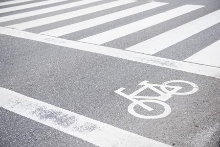 road bike: bike lane on the road, street