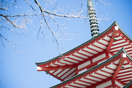 chureito: Chureito Pagoda view point in Japan , beautiful building