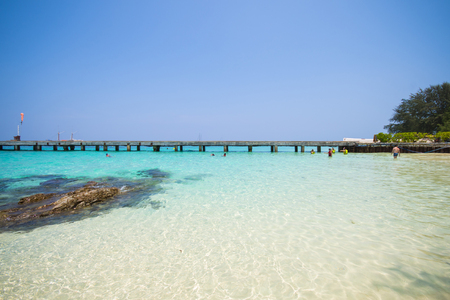 ton: beautiful beach and tropical sea in Mai Ton island, Phuket, Thailand