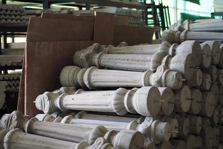 cement pole: cement pole style roman for decorate home, construction
