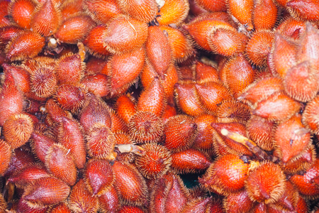 waive: fresh red waive bunch for sale in market, fruit Stock Photo