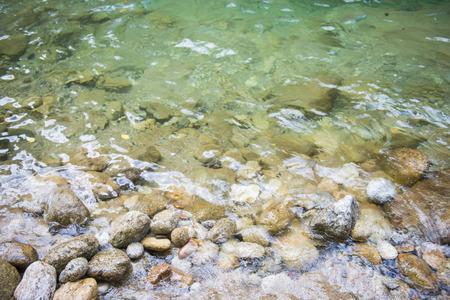 phangnga: Water stream and waterfall stone in Phang-nga, Thailand