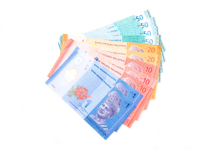 bank note of Ringgit Malaysia , money