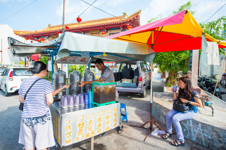 Melaka - 11 Febuary 2017 :: Local juice beverage for health , Malaysia Editorial