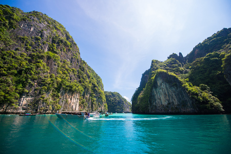 Thailand - 31 April 2017 ::Hong Island - beautiful place in Krabi , Thailand