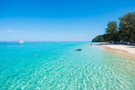 Thailand , 16 June 2017 ::Mai Ton island beautiful beach in Phuket , Thailand