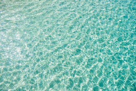 beautiful clear water at Mai ton island