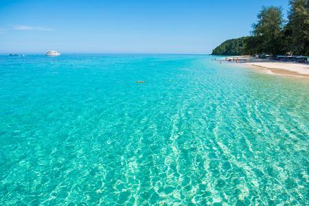 Mai Ton island beautiful beach in Phuket , Thailand