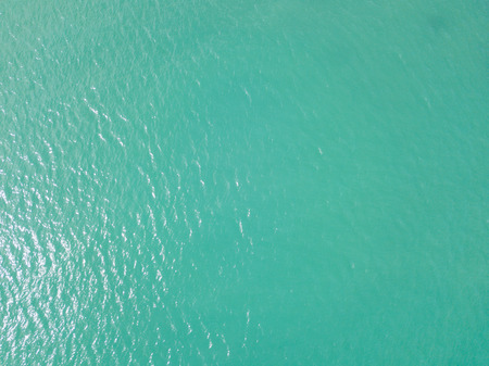 Aerial view or top view of tropical island and emerald clear water, Phuket island, Thailand Stock Photo