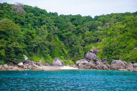 Tropical island at Similan island, Phang-nga, Thailand
