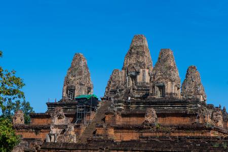 old temple at Angkor thom,Cambodia