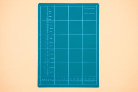 green cutting mat for handcraft work,art