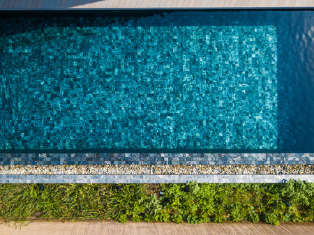 clear water at swimming pool,pond Imagens