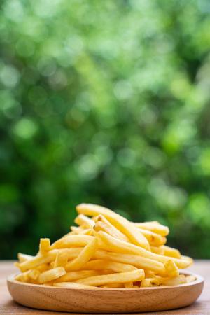 L'apéritif frit a l'air délicieux, pomme de terre