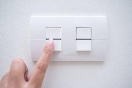 turn on power switch light,switch