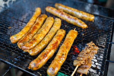 Sai Aua - northern thai spicy sausage,sausage