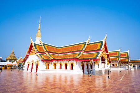 Phra That Choeng Chum Temple landmark of Sakornnakorn province,Thailand