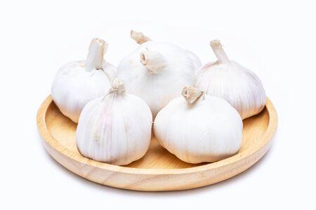 close up garlic ingredient for cooking,vegetable 版權商用圖片