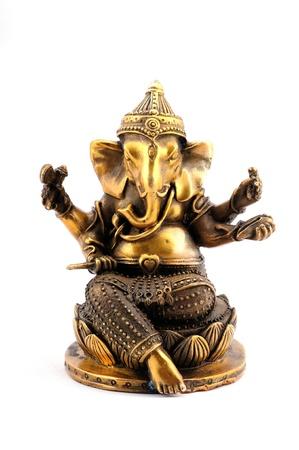 Indian Elephant-faced god Ganesh Stock Photo