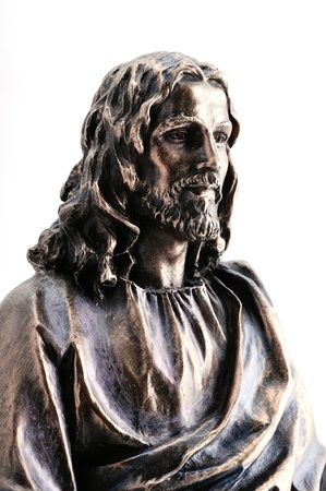 Statue of Jesus Christ with hands outstretched Banque d'images