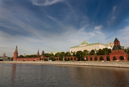 Moscow Kremlin, view from Moscow river Stock Photo - 10097617