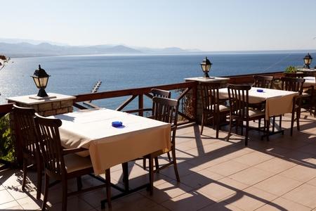 Cosy restaurant on seacoast