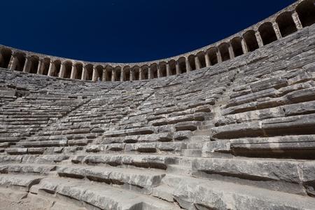 Antike Theater von Aspendos in der Südtürkei Standard-Bild - 10598277