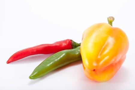 Zoete en hete peper