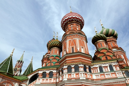 St. Basil Cathedral. Moscow, Russia, Red Square Stock Photo - 10794469