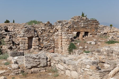 Ancient city of Hierapolis. Turkey photo