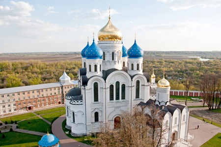 friar: Great monasteries of Russia. The city of Dzerzhinskiy