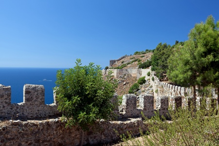 Turkey. Ruins of Ottoman fortress in Alanya Stock Photo - 11037586