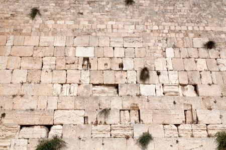 The Jerusalem wailing wall - very large image
