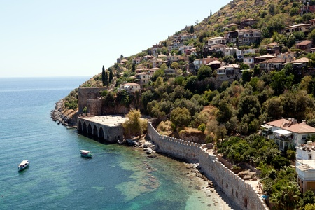 Turkey. Ruins of Ottoman fortress in Alanya Stock Photo - 11152026