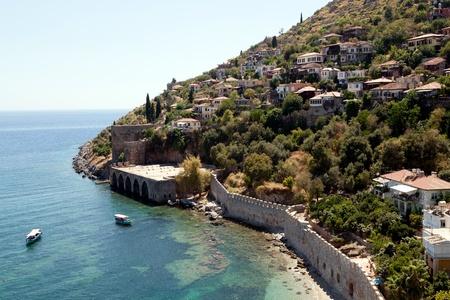 Turkey. Ruins of Ottoman fortress in Alanya