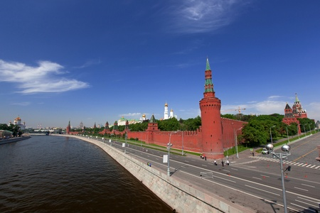 Moscow Kremlin, view from Moscow river Stock Photo - 13747254