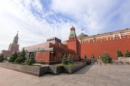 Lenin-Mausoleum und Kreml Standard-Bild - 13755631