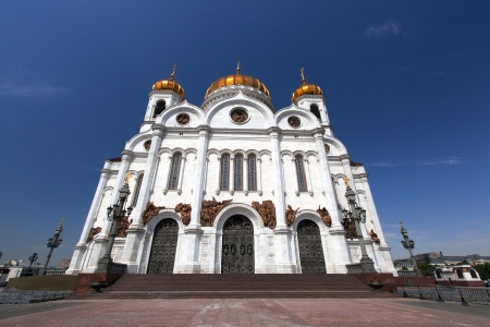 Christ the Savior Cathedral - the main cathedral of the Russian Orthodox Church in Moscow photo