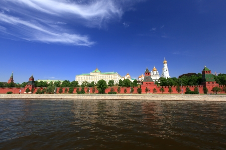 moskva river: Moscow Kremlin, view from Moscow river