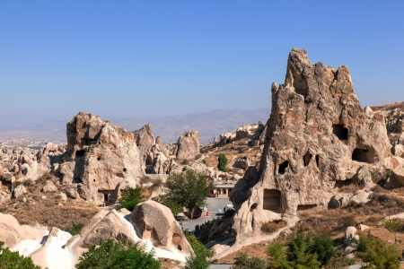 Cappadocia  Fairy Chimneys in Goreme open air museum