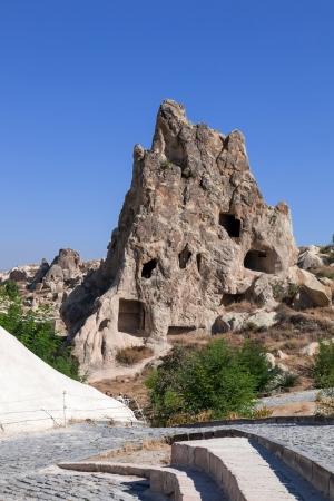 Cappadocia  Fairy Chimneys in Goreme open air museum photo