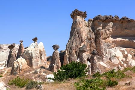 Cappadocia  Fairy Chimneys in Goreme Standard-Bild