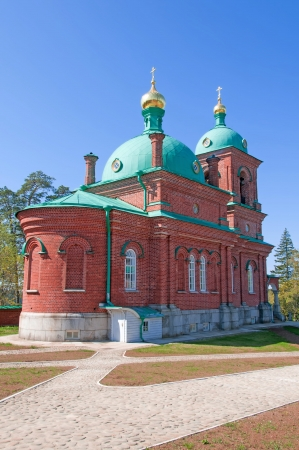 North Russia  Island Valaam on Ladooga lake photo