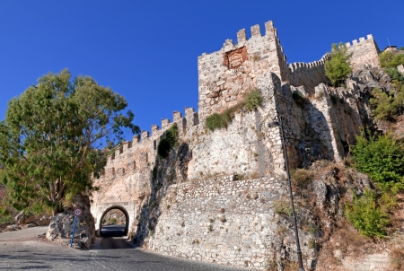 Turkey  Ruins of Ottoman fortress in Alanya Stock Photo - 14123446