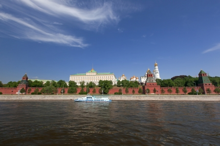 Moscow Kremlin, view from Moscow river photo