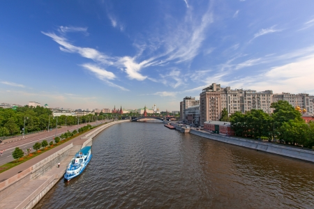 Moscow Kremlin, view from Moscow river Stock Photo - 14123721