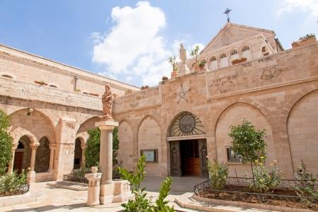 Palestin Die Stadt von Bethlehem Die Kirche der Geburt Jesu Christi Standard-Bild - 14253749