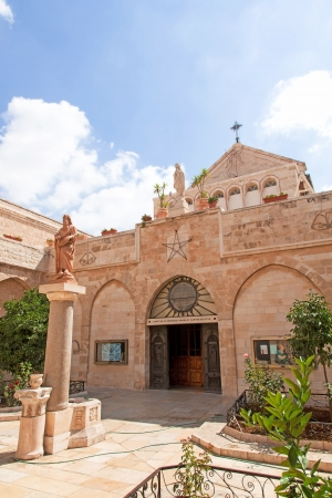 Palestin  The city of Bethlehem  The Church of the Nativity of Jesus Christ Stock Photo - 14253735