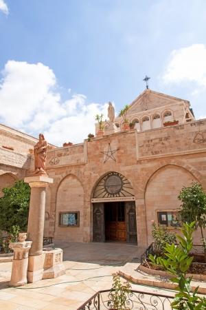 Palestin  The city of Bethlehem  The Church of the Nativity of Jesus Christ Stock Photo - 14253735